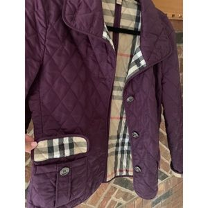 Authentic Burberry Quilted Jacket- UPDATED LISTING